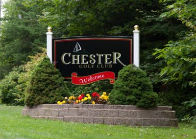 1 Chester Entrance Sign 2017 - 3 new - Chester Golf Club